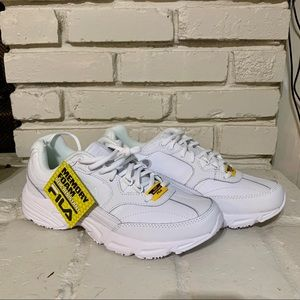 FILA White Slip Resistant Shoes WET/DRY/OIL